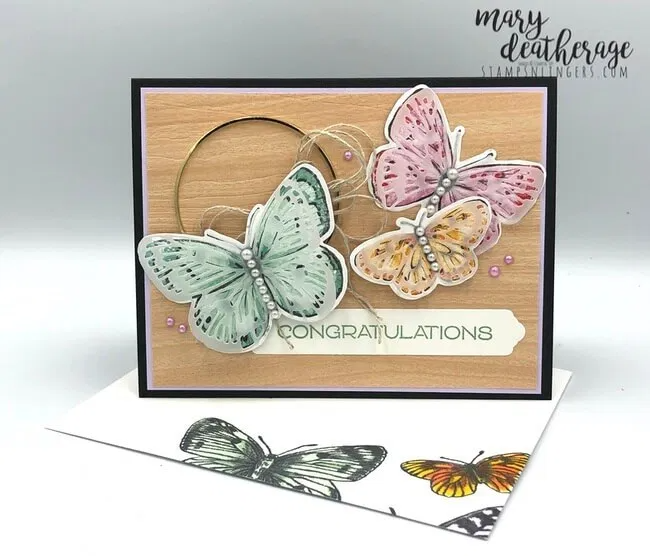 Stampin' Up! New Butterfly Bouquet Sneak Peek with