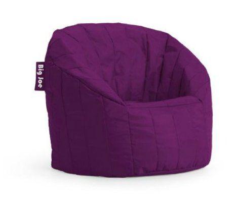 big joe lumin chair and stool amazon com plush plum bean bag chairs