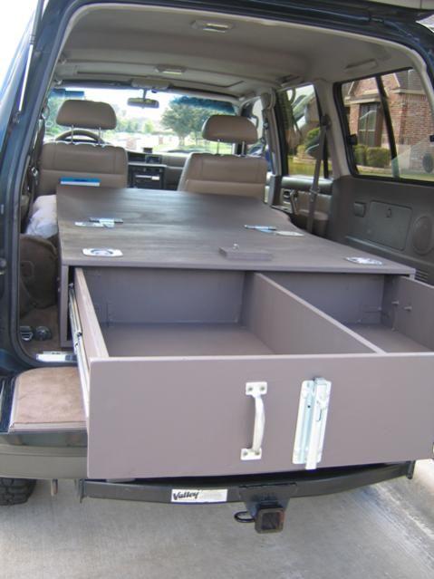 80 Series Sleeping Setups Page 3 Vehicle Storage