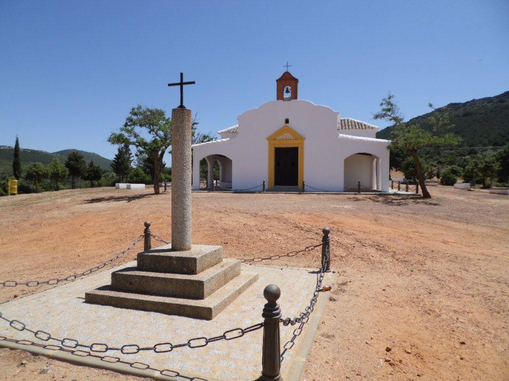 """NAVAHERMOSA (TOLEDO). Ermita """"La MIlagra""""."""