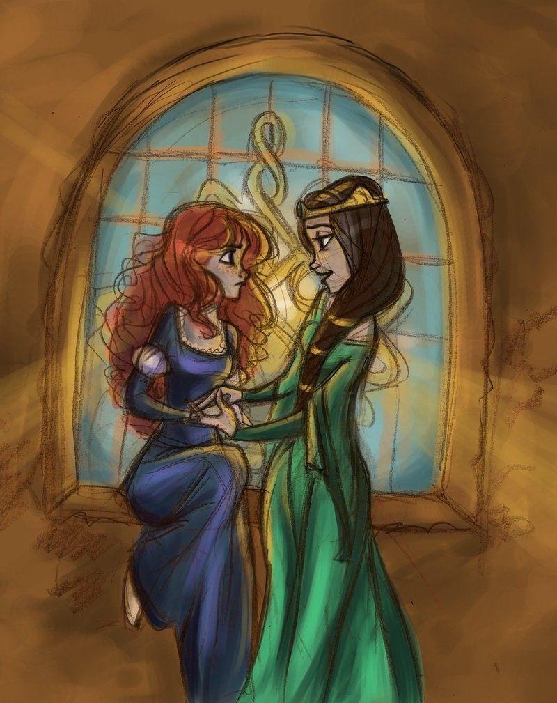 Merida & Queen Elinor
