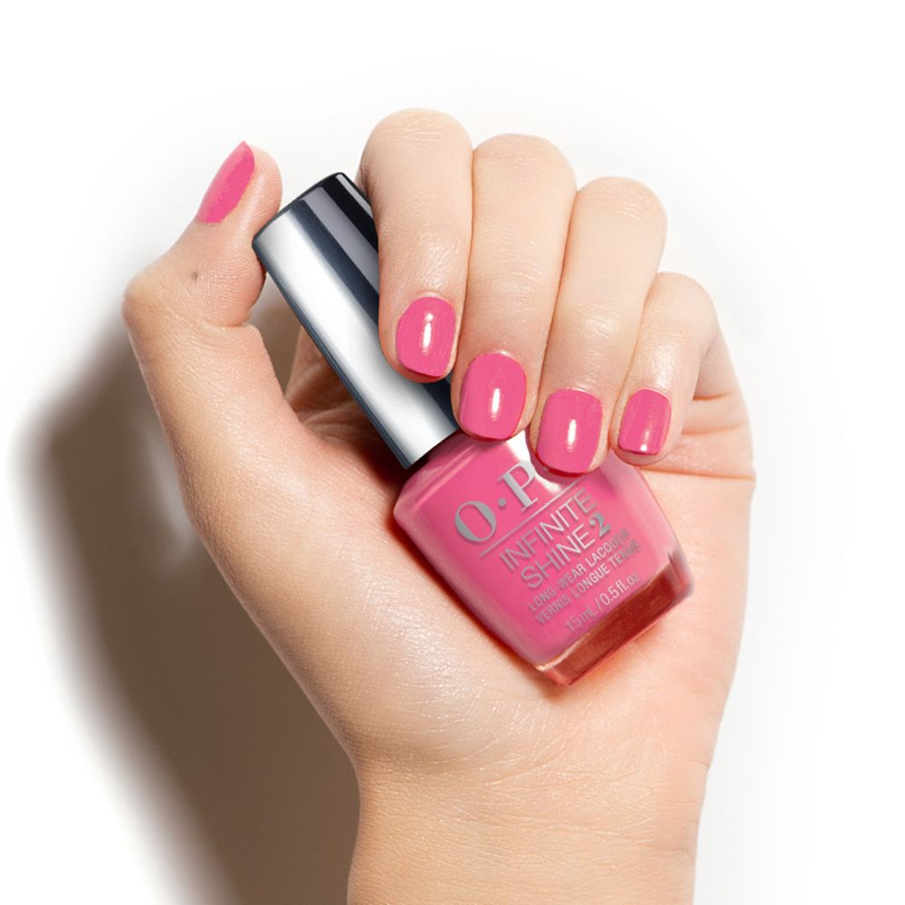 Opi Infinite Shine2 Long Wear Nail Lacquer Malibu Pier Pressure This Cotton Candy Pink Has A Very Persuasive Vibe