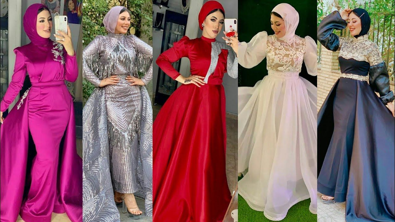 Pin By يوميات بنات On فساتين 2021 فساتين سهرة Evening Hijab Dresses Bridesmaid Dresses Wedding Dresses Dresses