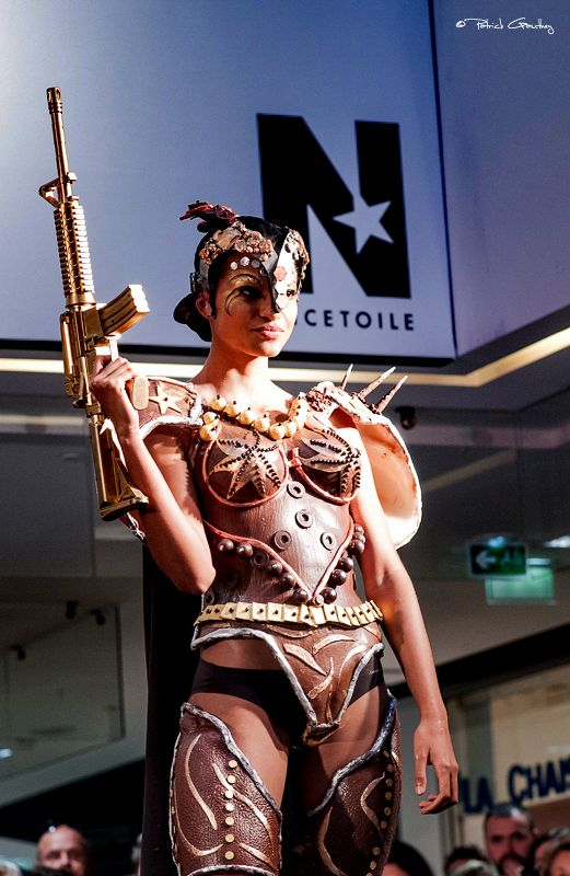 #Tendance #chocolat lors du défilé de mode à Nicetoile