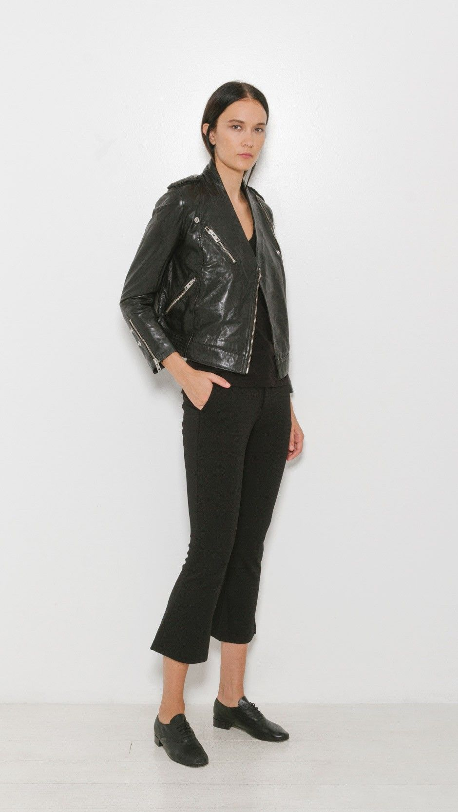 Zadig & Voltaire Loon Leather Jacket   The Dreslyn