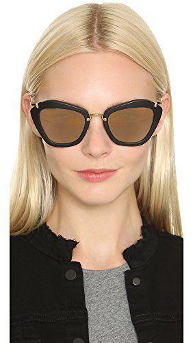 91f1dbeac0adf Miu Miu Women s Matte Cat Eye Sunglasses in 2019