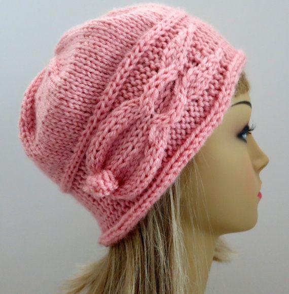 Bunny Knitting Pattern Hat Pattern   knitting dámske pletené čiapky ...