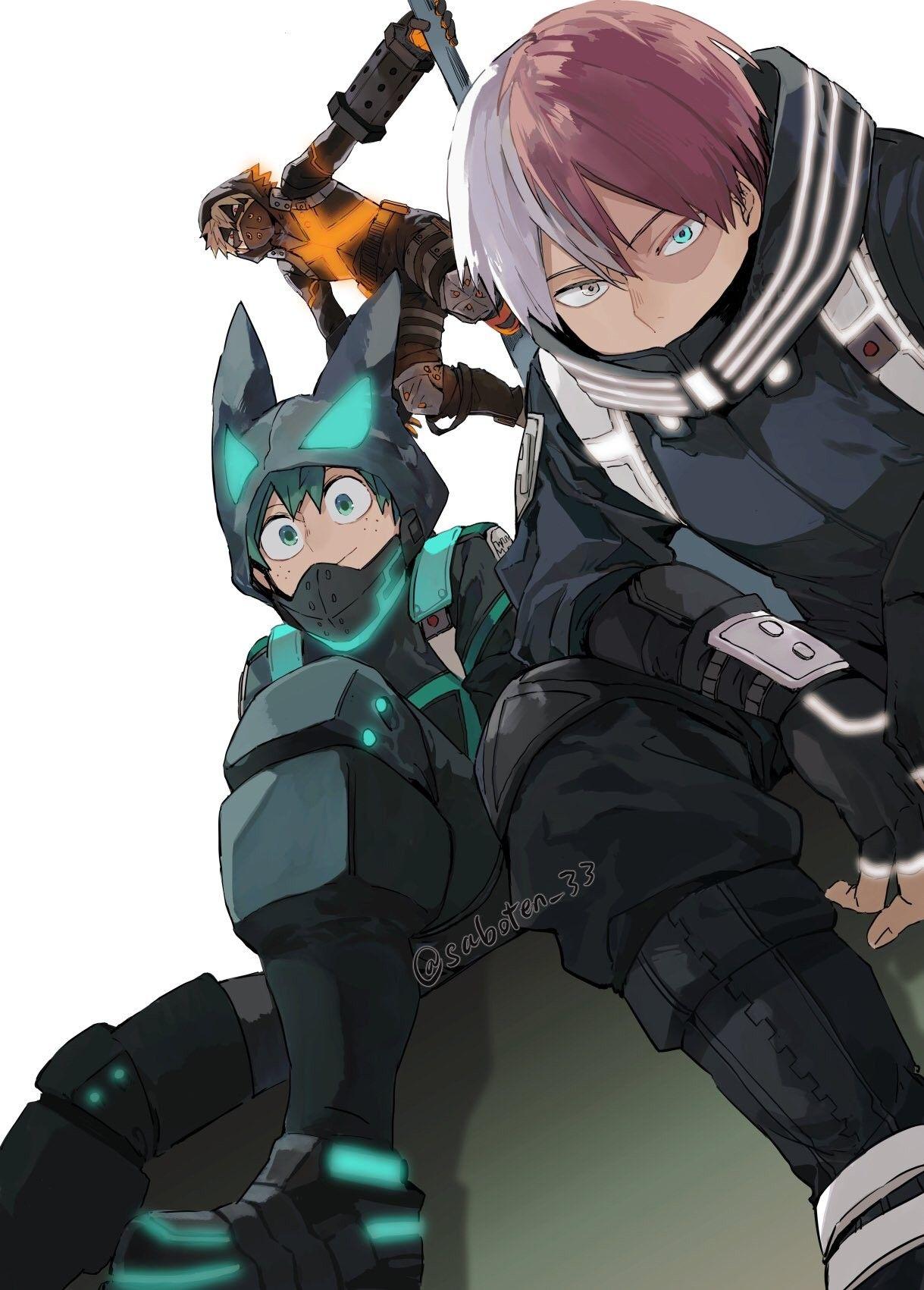 Save Follow Midoriya Izuku Deku Shoto Todoroki Bakugou Katsuki My Her In 2021 My Hero Academia Episodes Boku No Hero Academia Funny Boku No Hero Academia
