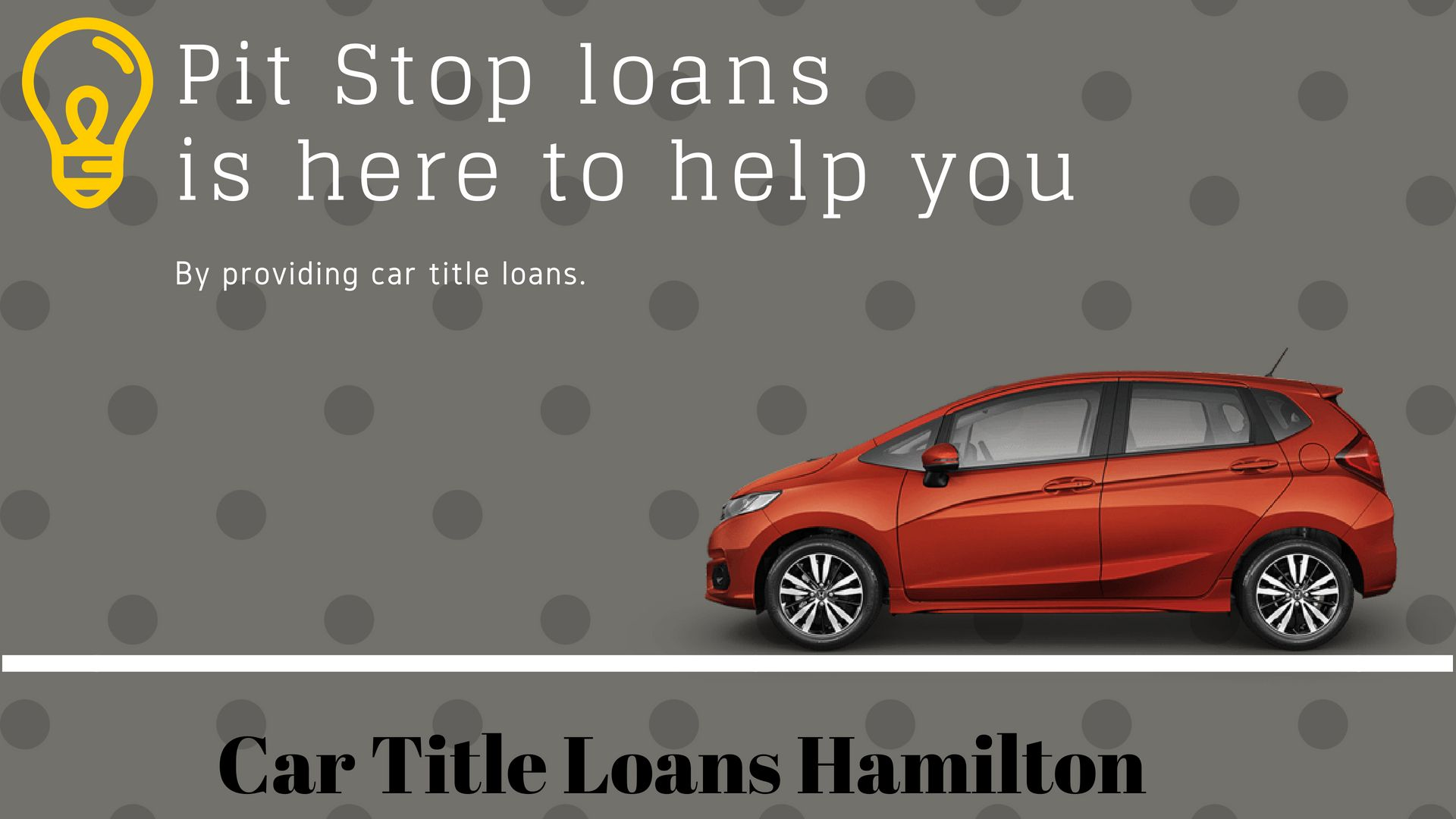 Pit Stop loans made it too easy that anyone in need can