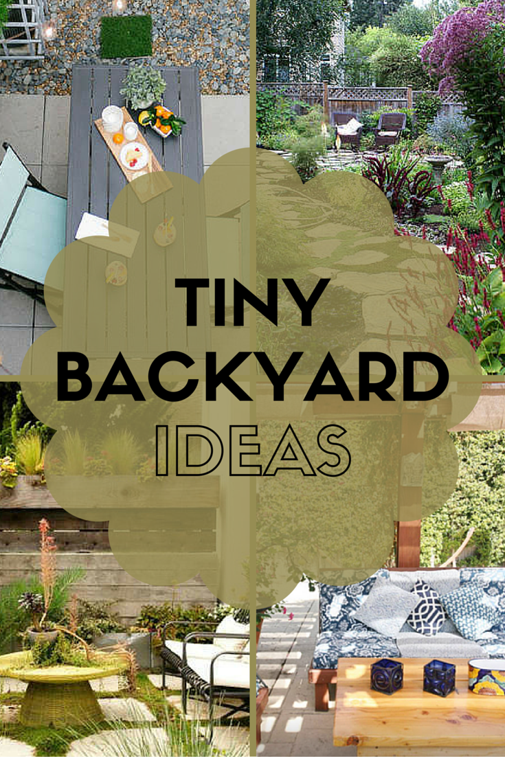 7 Ideas to Steal from Real People's Tiny Backyards ...