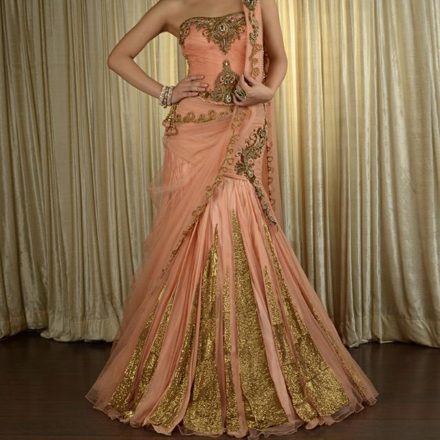 Beautiful Indian Reception Outfit!