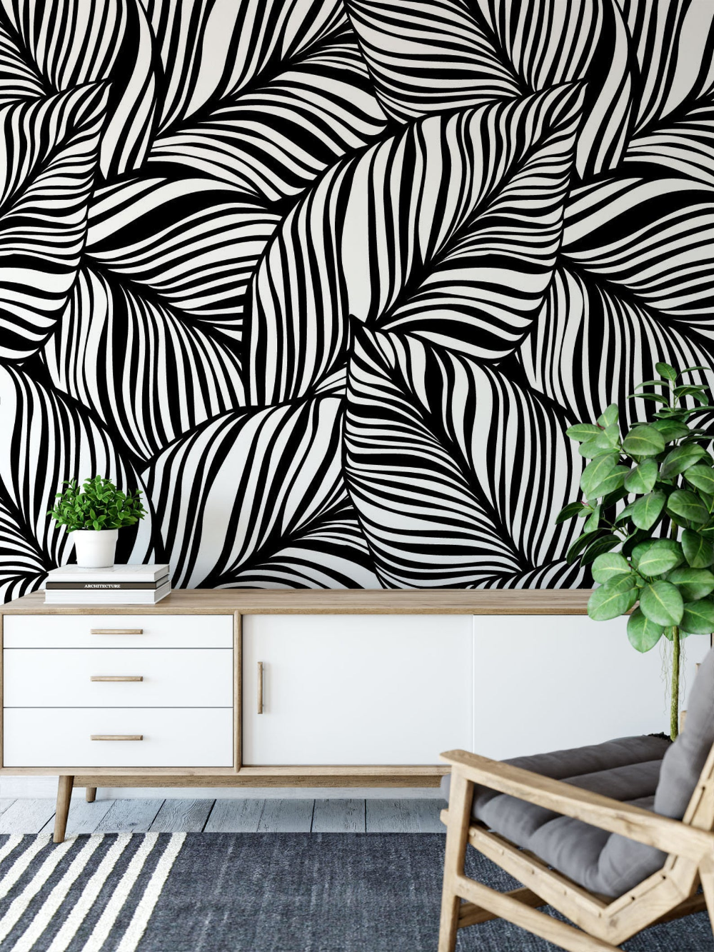 Minimalist Removable Wallpaper Abstract Wallpaper Modern Etsy Removable Wallpaper Modern Wallpaper Abstract Wallpaper