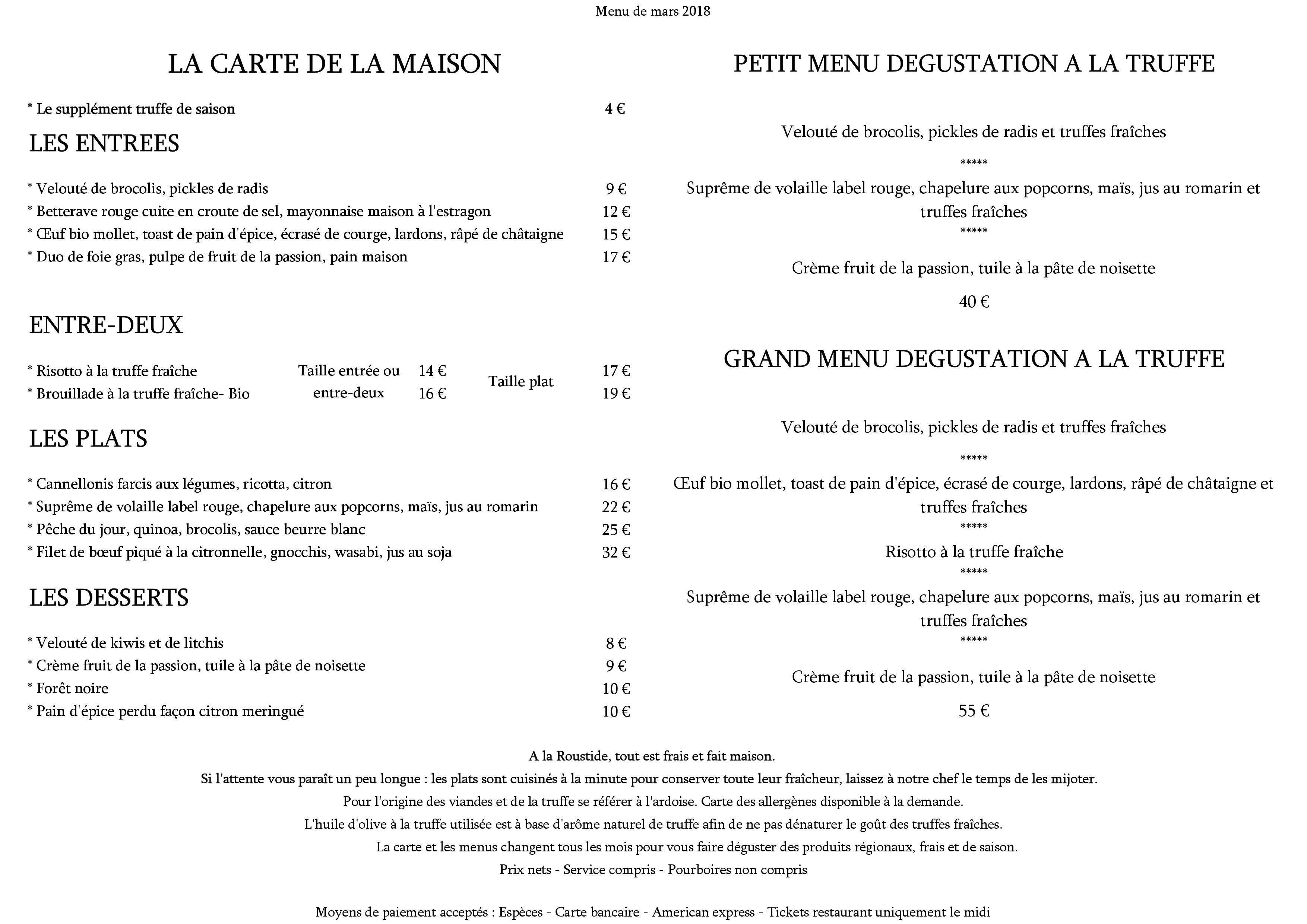 Restaurant La Roustide   Restaurant français spécialisé dans la ...