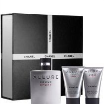 64d21689 Chanel Allure Homme Sport Luxury Gift Set for Men - EDT Spray 3.4 Oz ...