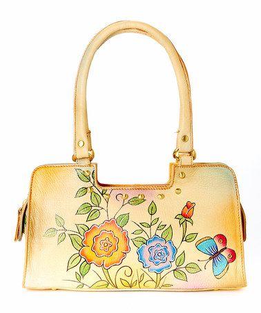 Rose Leather Shoulder Bag By Magnifique Bags Zulilyfinds
