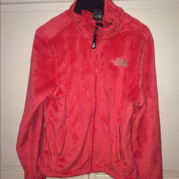 Coral North Face Never worn North Face Jackets & Coats