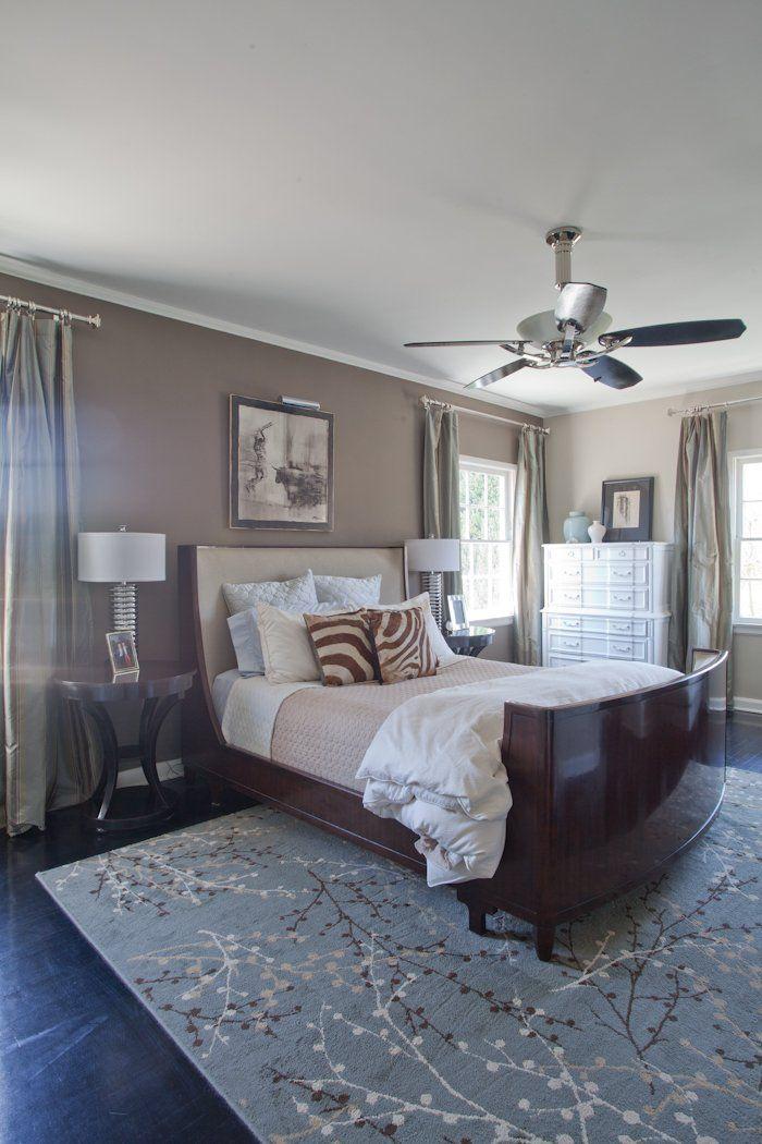 Erik Paul S Happy Los Feliz Home Blue Carpet Bedroom Home