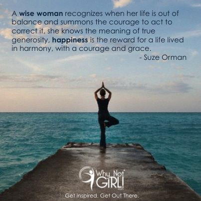Why Not Girl! // Inspirational Quotes // Suze Orman ...