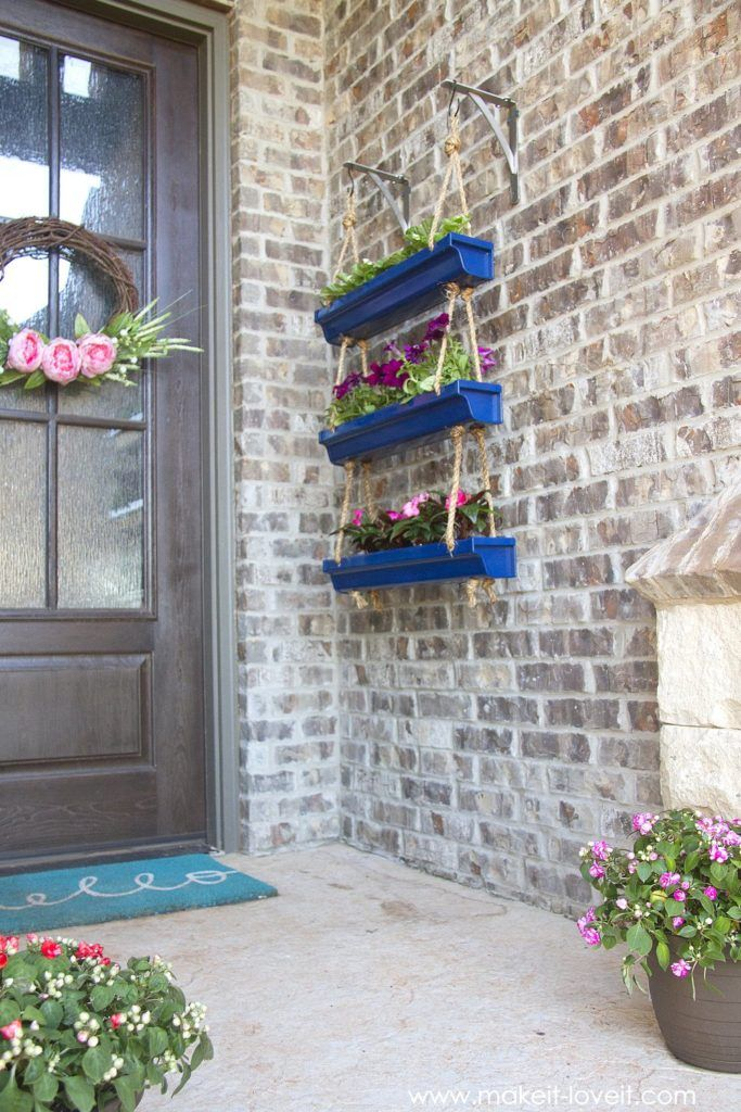How To Decorate Your Home With Personality: Diy Porch, Diy Hanging, House With Porch