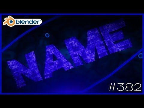 Intro Template Blender | Blender Intro Template 382 Free Download Youtube Blender