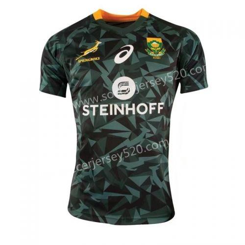 2018 19 South Africa Dark Green Rugby Shirt