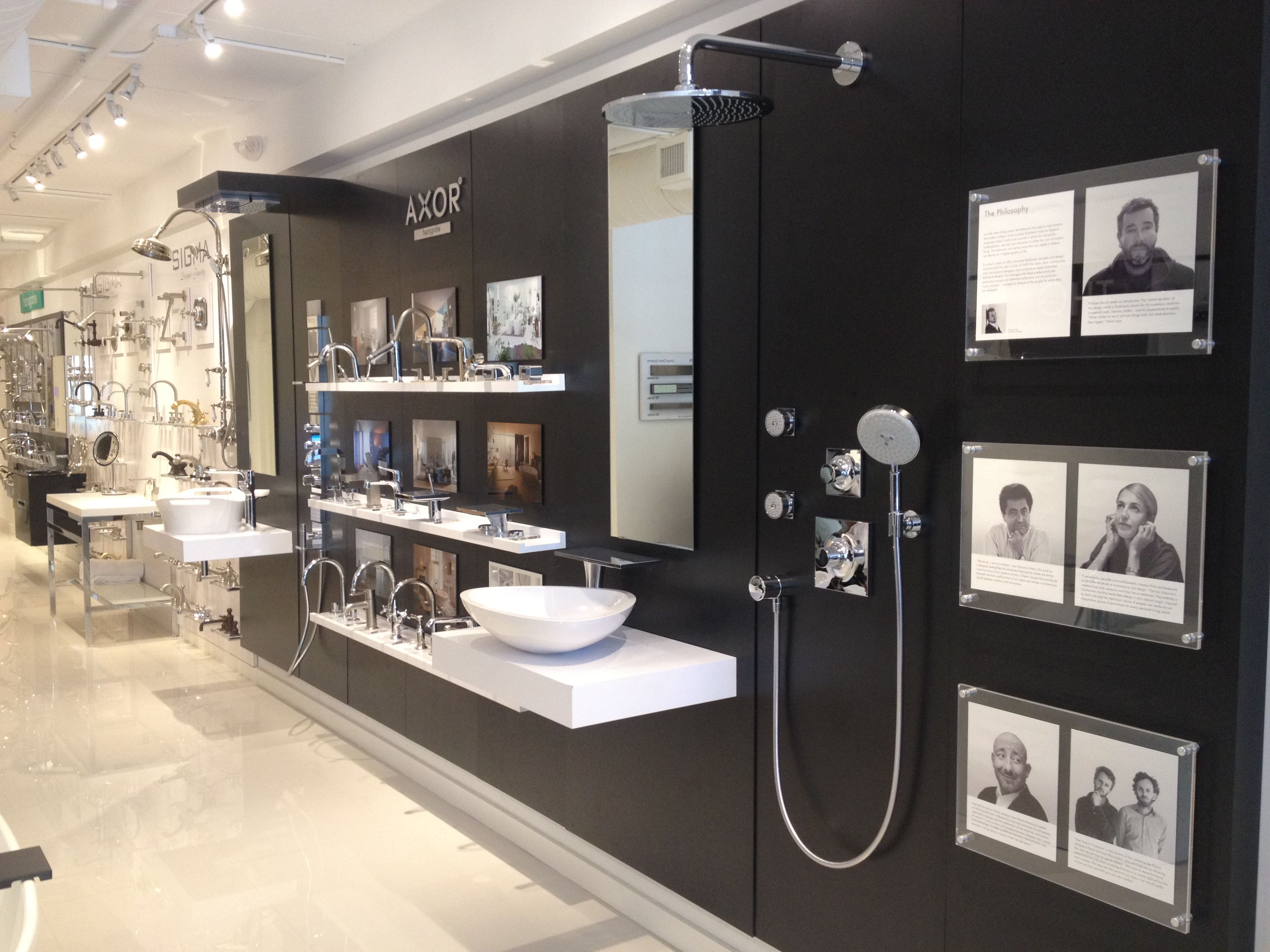 Bathroom showrooms canberra - Axor Display At Our New Showroom In The Miami Design District 3612 Ne 2nd Avenue