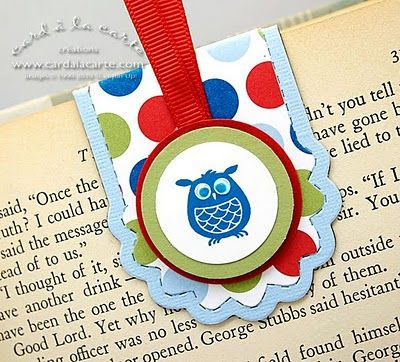 Stampin' Up!  Two Tags  Card a la Carte  Magnetic Bookmark