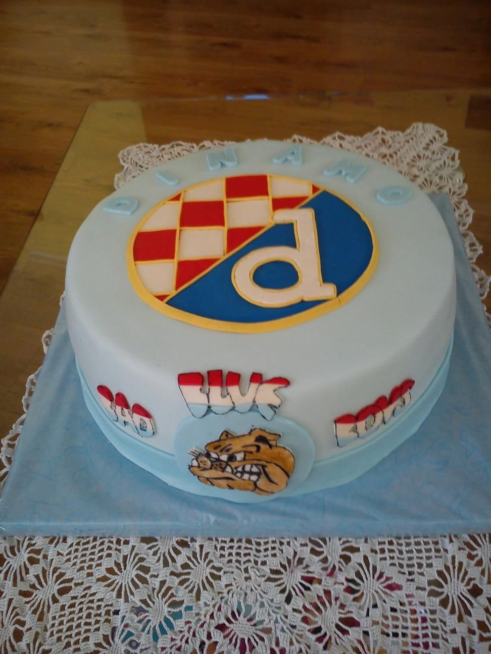 Dinamo Zagreb Childrens Birthday Cakes Sport Cakes Cake