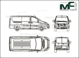 Fiat scudo box car l2h1 2007 blueprints ai cdr cdw dwg fiat scudo box car l2h1 2007 blueprints ai cdr malvernweather Image collections