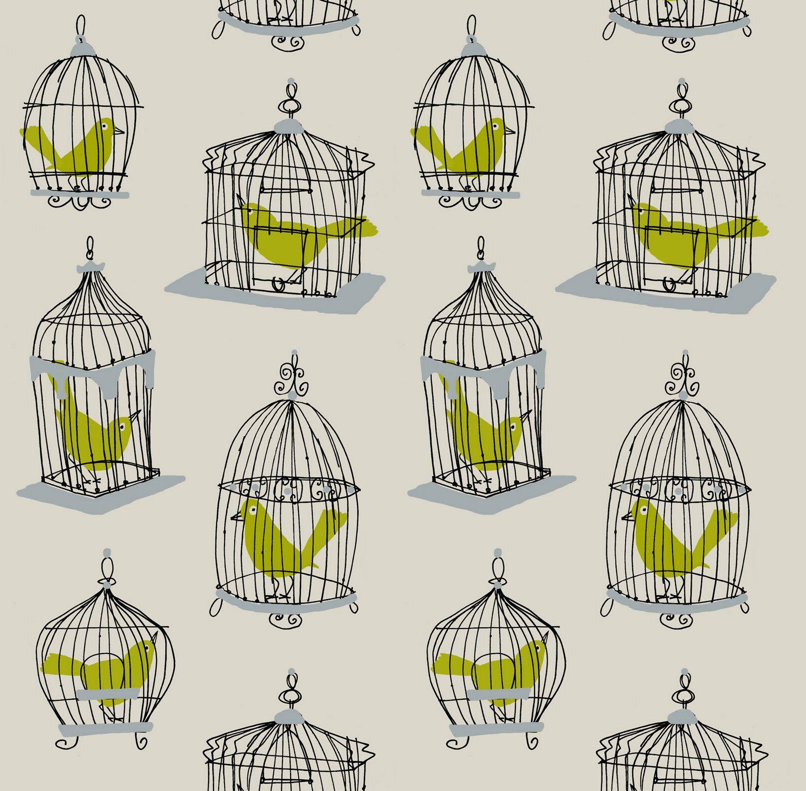 Bird Cage Wallpaper Birdcage Wallpaper Creative Walls Bird Cage