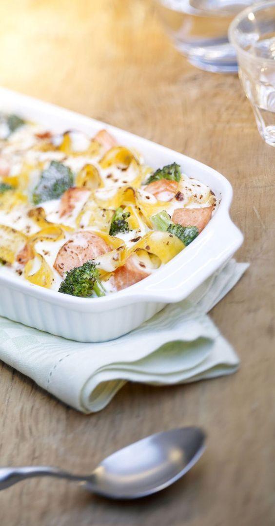 Lachs Auflauf #healthyshrimprecipes