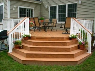 Hexagon Stairs In Ipe Google Search Outdoor Decor Stairs Outdoor