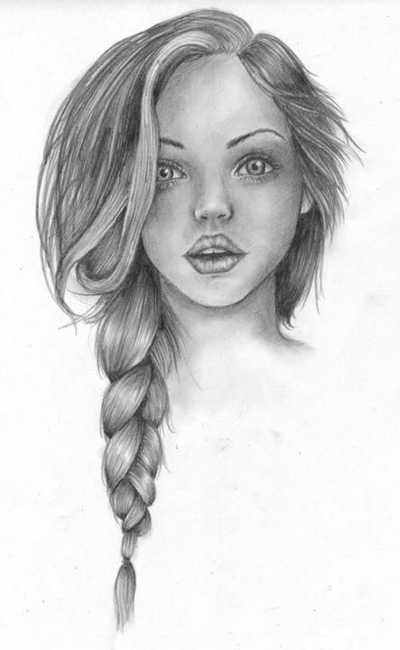 Image of: Tutorial Really Cool Eyes And Almost Realistic Hair Pinterest Really Cool Eyes And Almost Realistic Hair Sketches Pinterest