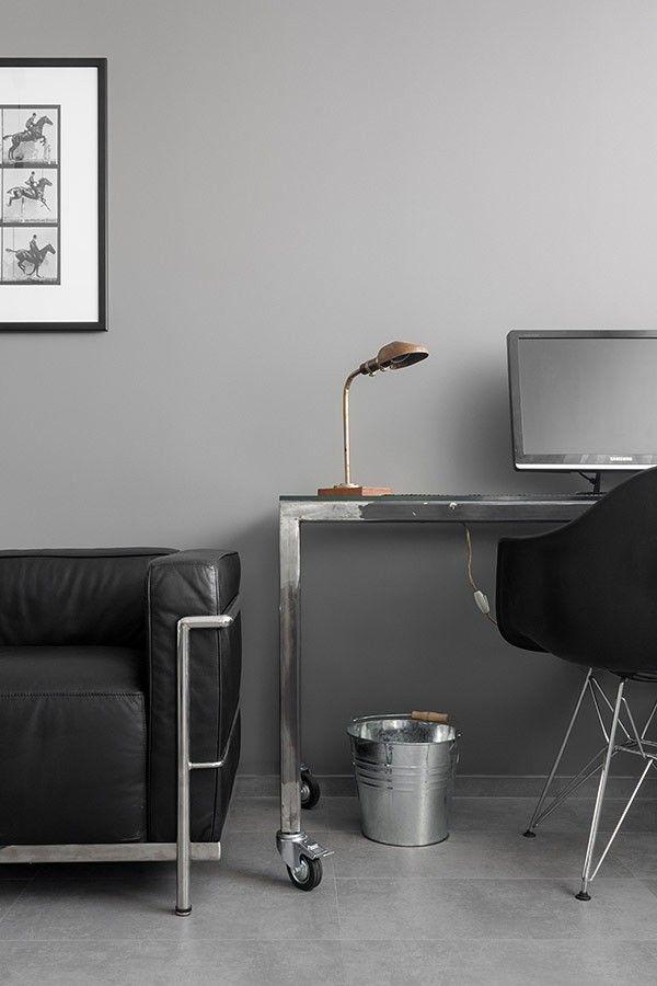 Detail Fehlschüsse schwarz-weiß Wohnzimmer Gestaltung Wohnung - wohnzimmer schwarz wei