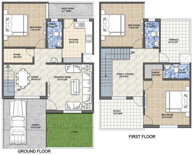 M s de 25 ideas incre bles sobre plantas de casas duplex for Planos de apartamentos modernos