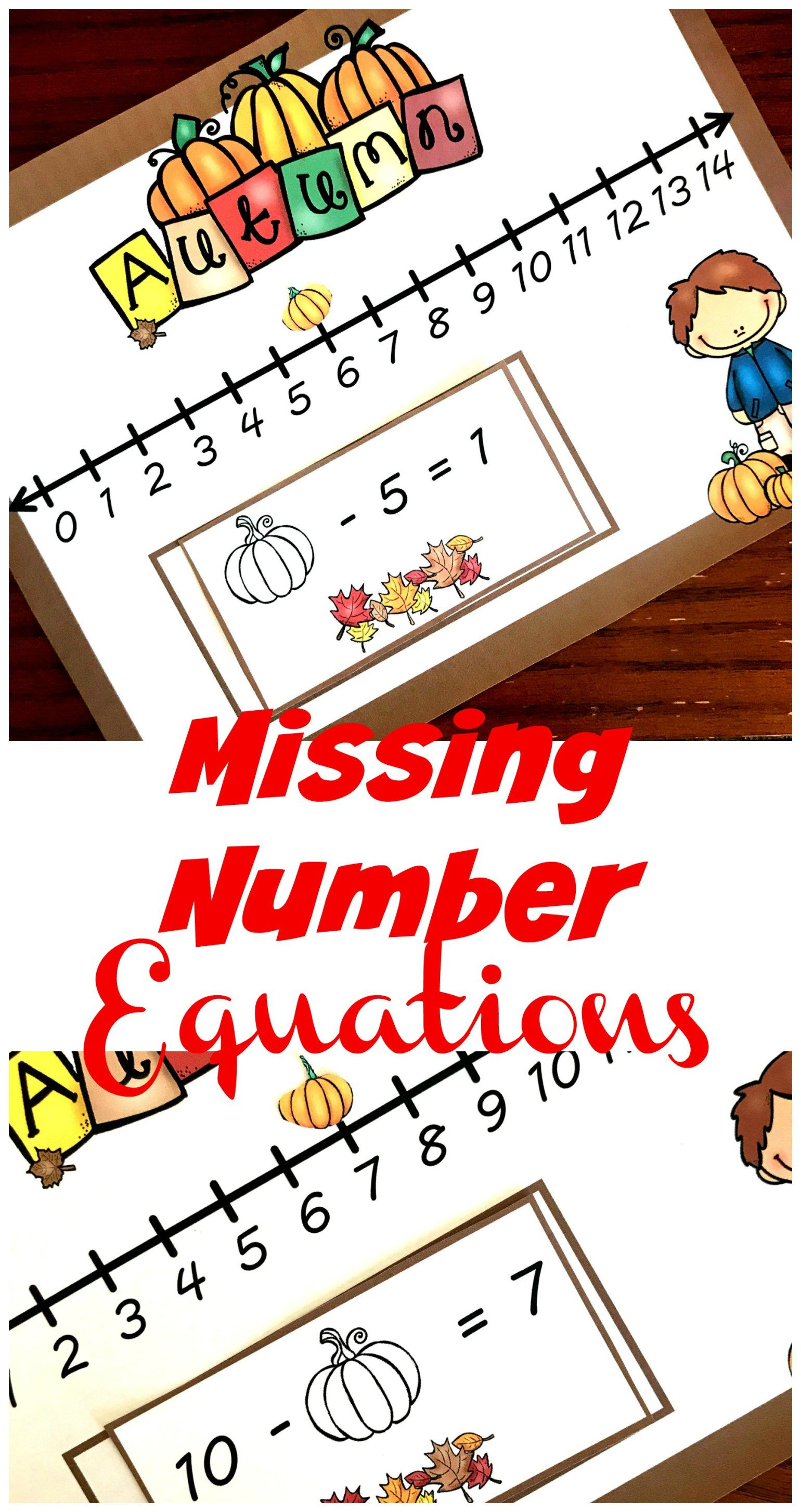 Free Fill In The Missing Number Using A Number Line