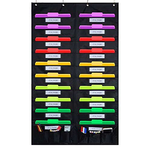 Pin by Cindy Yu on Classroom Tool Pocket Chart Pinterest Hanging - bill organizer chart