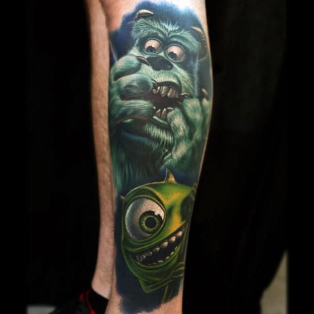 Nikko Hurtado on | Tattoo, Nerdy tattoos and Color tattoo
