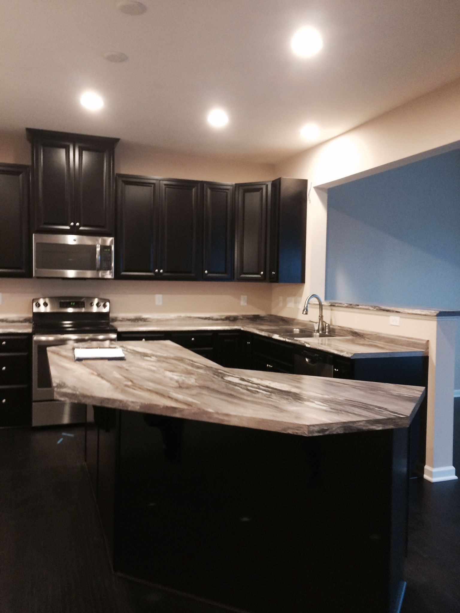 Ryan Homes Palermo Kitchen Building House