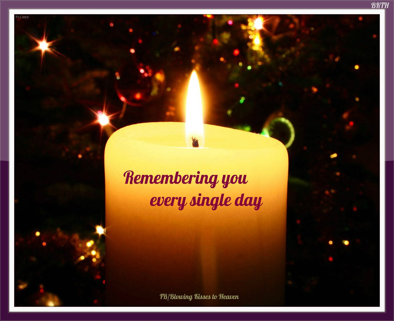 Download Keeping a candle lit in memory of my Angel in Heaven ...