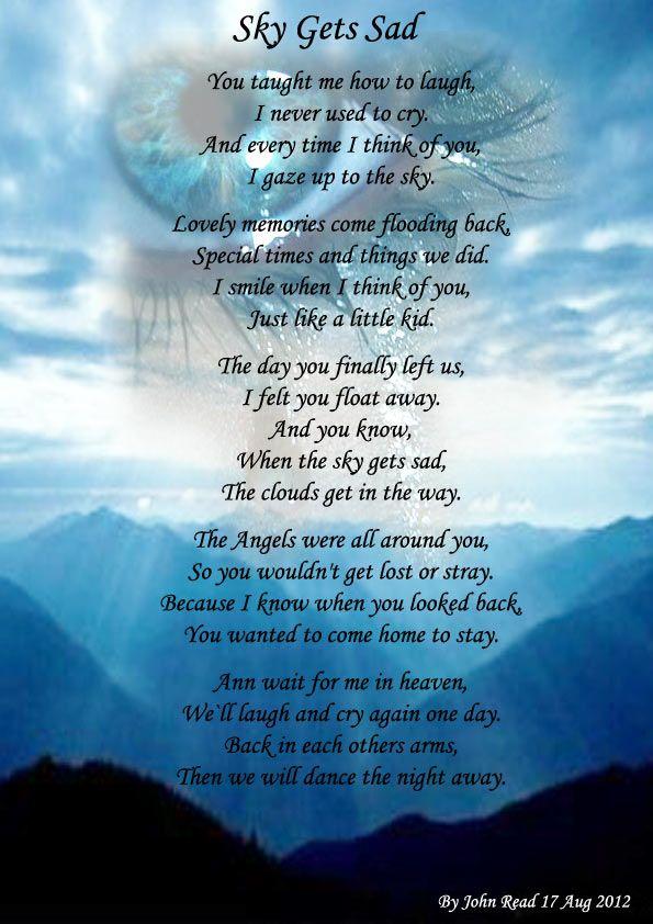 Death poem sad teen