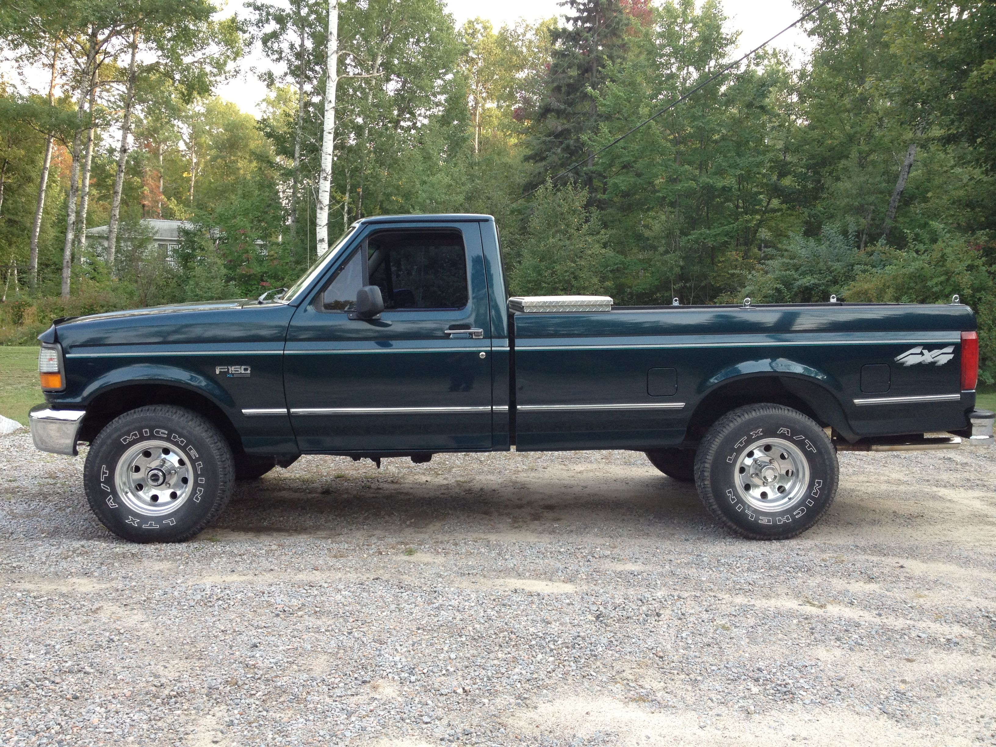 Have It 1995 Ford F150 Only Ours Is 2 Tone Green 1995 Ford F150 Ford Ford Trucks