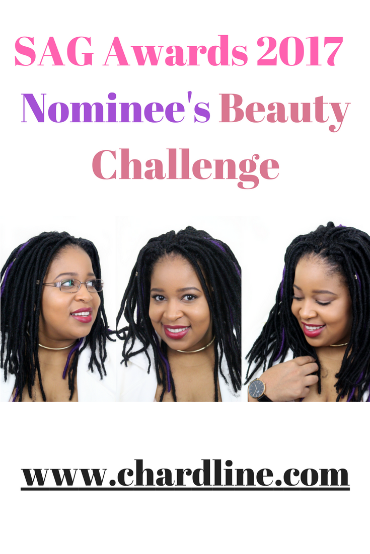 SAG Awards 2017 Nominee's Beauty Challenge
