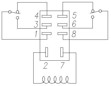 2Pole Relay Pinout Diagram Diagram, Wire, Electrical fuse