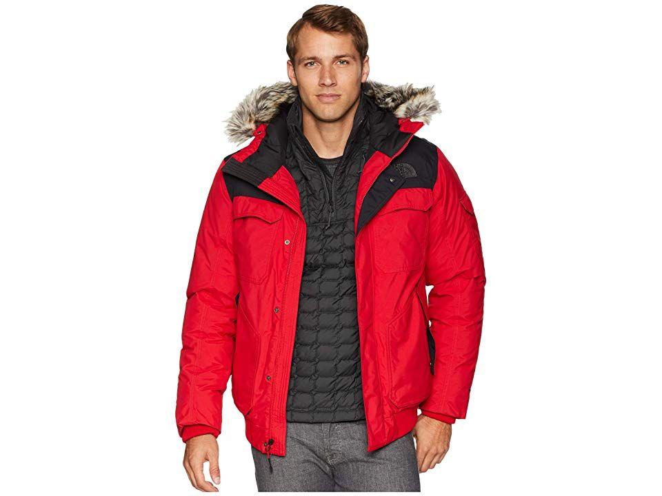 f24d47e4f The North Face Gotham Jacket III (TNF Red/TNF Black) Men's Coat. A ...
