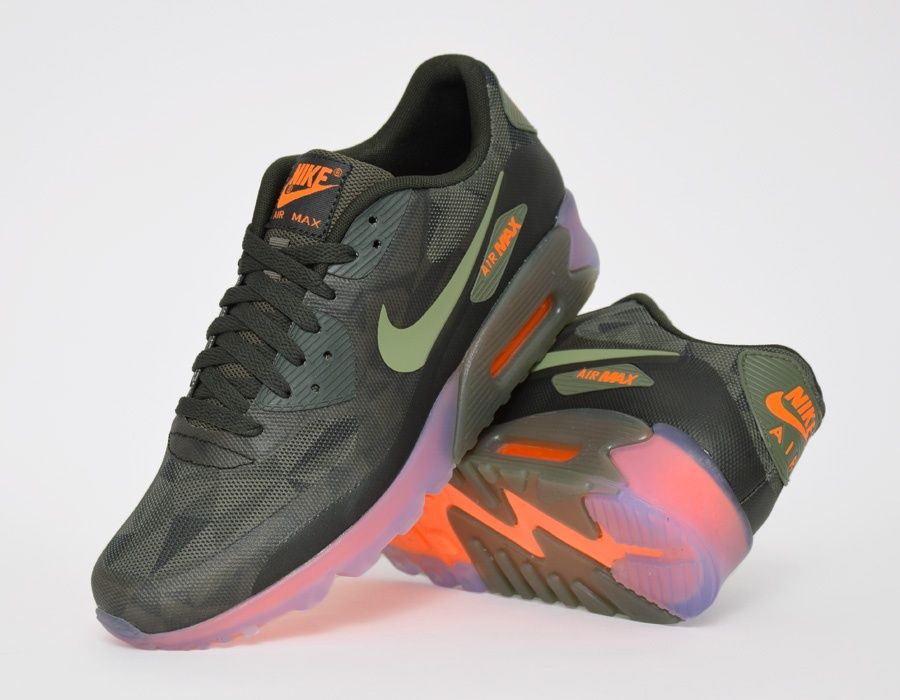 c0c981cb652454 ... Nike Air Max 90 QS Ice Edition Rough Green sneakers ...