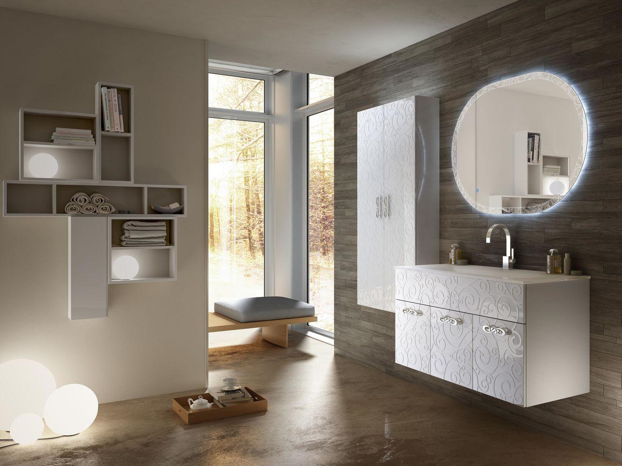 MIAMI - Sapphire Bath | Lighted bathroom mirror, Dream ...