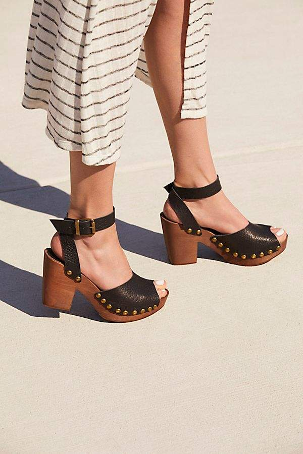 Fp Collection Pasadena Clog clog fp freepeople sandal platform saltylashes is part of Shoes -