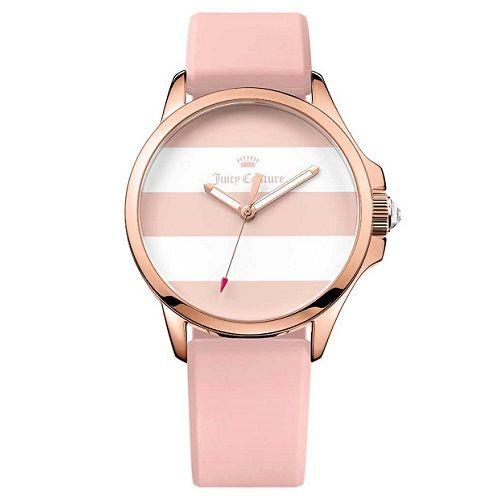 Relógio Juicy Couture Feminino Borracha Rosa - 1901486   Sandalias ... 88dc642940
