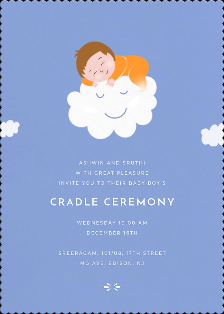 Vastu Card Invitation Naming Ceremony Invitation Online Invitation Card Invitation Card Design